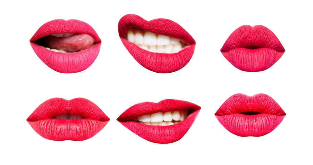 שפתיים סקסיות
